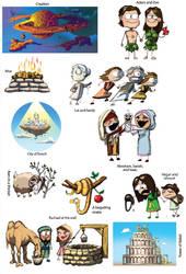 Genesis Stickers by Swashbookler