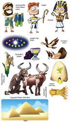 Genesis Joseph Stickers by Swashbookler