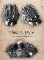Lloth pauldrons by Darvyar
