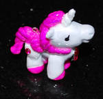 Pretty Pink and White Unicorn by UniqueDesignByMonica