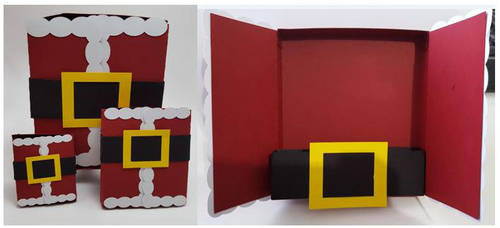 3D DS Game Santa Gift Box by UniqueDesignByMonica