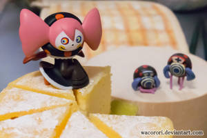 Bebe on the Fromage by WaCorori
