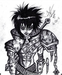 Anime Warrior 01 by TheEnigmaTNG