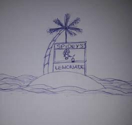 Fan Art Mashup Challenge - Spidey's lemonade by jaime-art