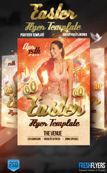 Easter PSD Flyer Template by ImperialFlyers