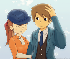 Clive and Flora: Give my hat back by xHeeendlx