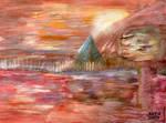 The Pyramid  - Original painted 1996 by tarmedy