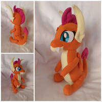 Smolder plush by FleeceFriendship