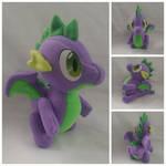 Spike plush by Jhaub1
