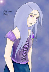 Lady Purple by orokasa