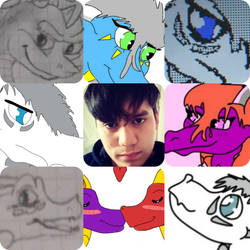 Me and my creations by Nicox0712