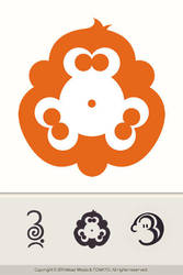 3monkeys Logo By Miloszwl by YUMEK0N