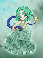 Chibi Princess Neptune by Frenchwolf26