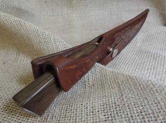 A Custom Sheath to a Custom Knife 7 by OSOFacasRS