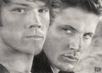 Sam and Dean by rajafdama