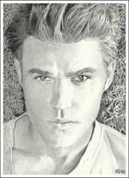 Stefan Salvatore by rajafdama