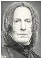 Severus Snape by rajafdama
