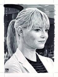 Gwen Stacy by rajafdama