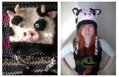 MoooOOoo - Crochet Cow by mbqlovesottawa