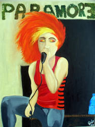 Hayley Williams by mbqlovesottawa
