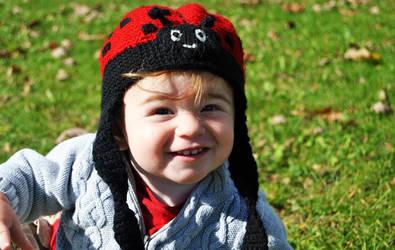 Toddler LadyBug Hat by mbqlovesottawa
