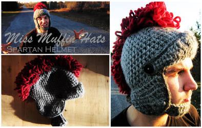 Spartan Helmet by mbqlovesottawa