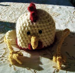 Chicken Hat by mbqlovesottawa