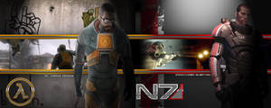 Freeman Shepard Widescreen wp by EspionageDB7