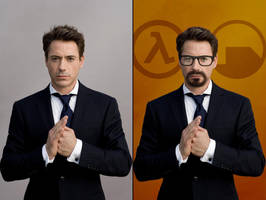 Robert Downey Freeman by EspionageDB7