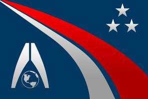 Systems Alliance Flag Concept by EspionageDB7