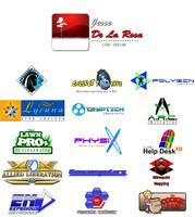 Jesse De La Rosa Logo Design Showcase by EspionageDB7