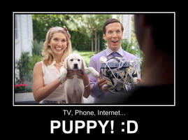 Puppy! :D by EspionageDB7
