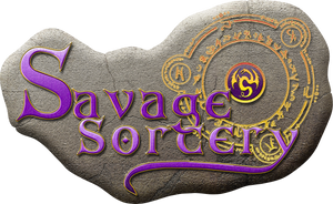 Savage Sorcery Logo by EspionageDB7