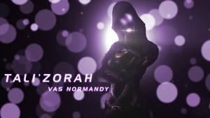Tali'Zorah Wallpaper by EspionageDB7