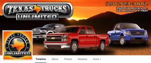 Texas Trucks Unlimted Facebook Banner/Icon by EspionageDB7
