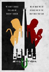 Nemesis Minimalistic Teaser Poster by EspionageDB7