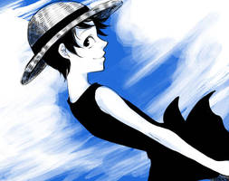 Luffy by ichi23