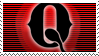 Q - stamp by nekonekoninja