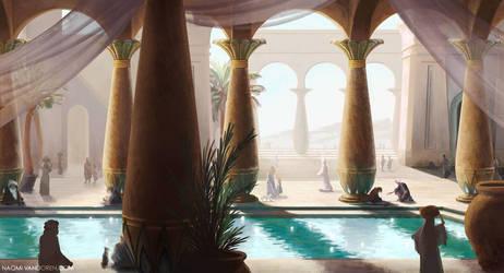 Pool of Stars by NaomiVanDoren