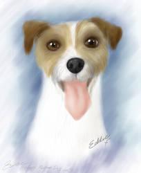 Eddie - Pet Portrait by Java--Jive