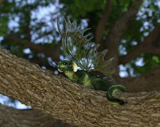 Tree Dragon by DonarsArt