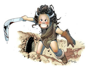 The Feral Kid by raultrevino