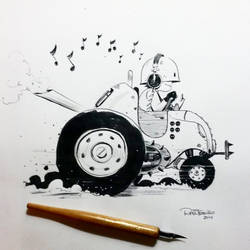 Inktober day 23 by raultrevino