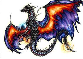 ~ Dusky Dragon ~ by SaphireDragon16