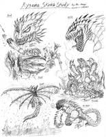 Rygama Sketch Study by RenDragonClaw