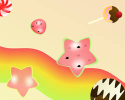 Candylicious Wallpaper by SapphireWarrior