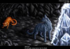 Firepaw and Bluestar by Vialir