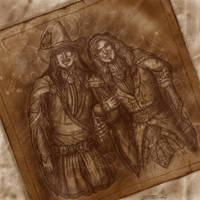 DH - Albus and Gellert by zorm