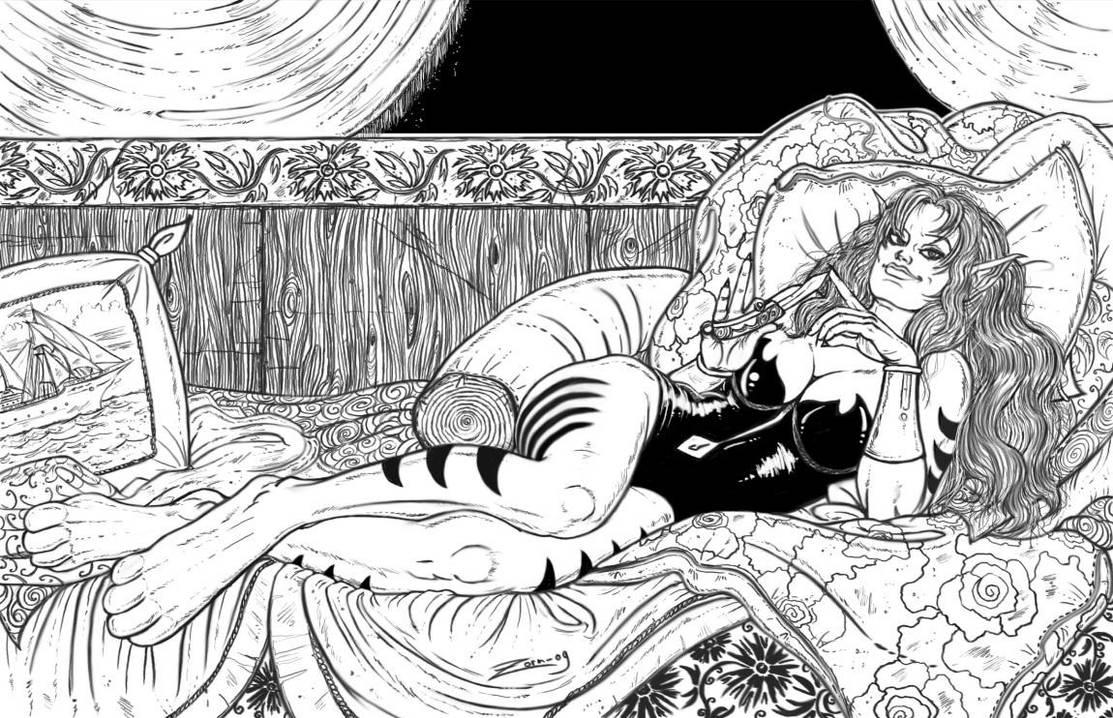 Commish - Nightcat by zorm