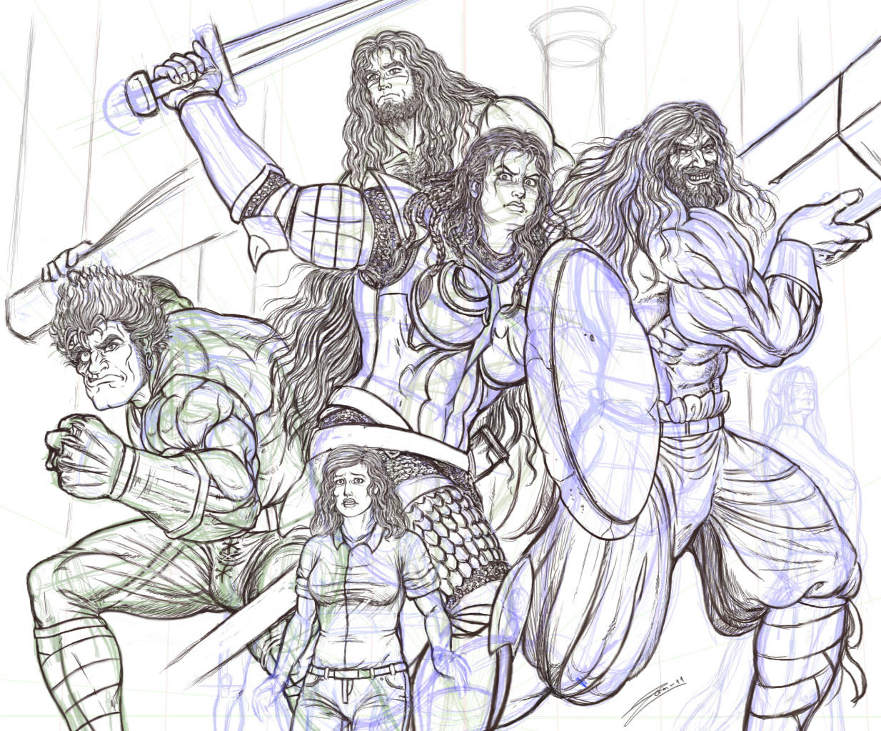 Charade's End ROUGH WIP 1 by zorm